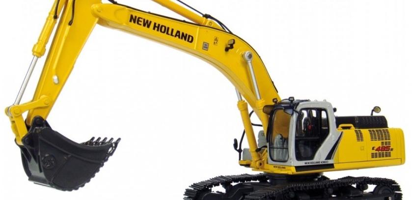 Koparki NEW Holland – silniki i części zamienne