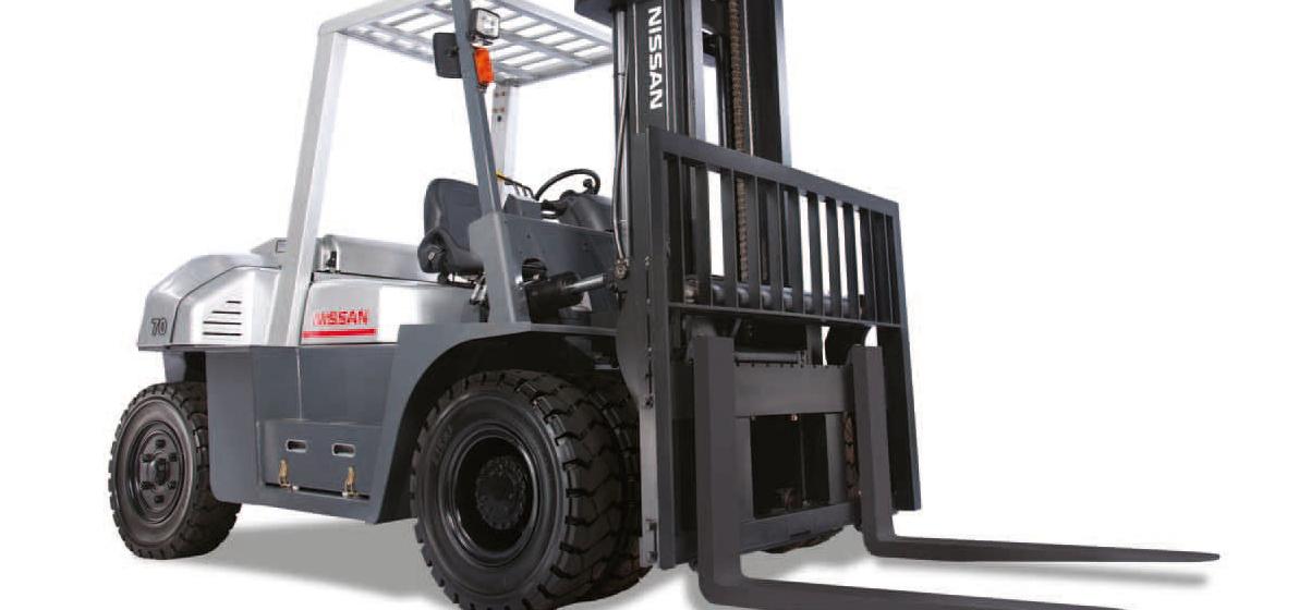 Silniki i części zamienne do wózków widłowych NISSAN
