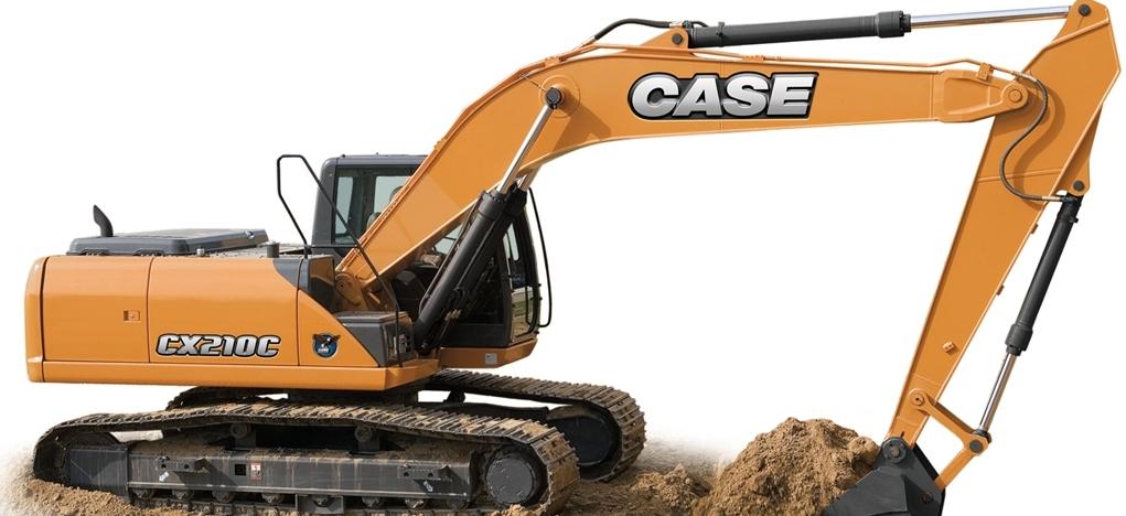 Części zamienne do koparek i maszyn budowlanych CASE