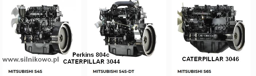Zestaw naprawczy – remontowy do silników Mitsubishi S4S, S4S-DT, S6S i S6S-DT