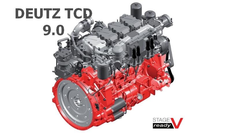 Silnik DEUTZ TCD 9.0 jako DIESEL OF THE YEAR