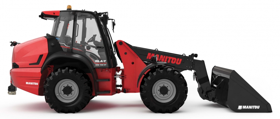 DEUTZ napędza nową ładowarkę przegubową MANITOU Mla-T 533-145 V+