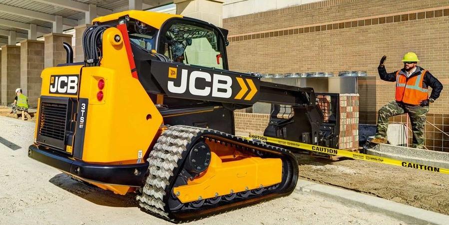 JCB wprowadza nową ładowarkę gąsienicową 3TS-8T do sprzedaży w Europie.