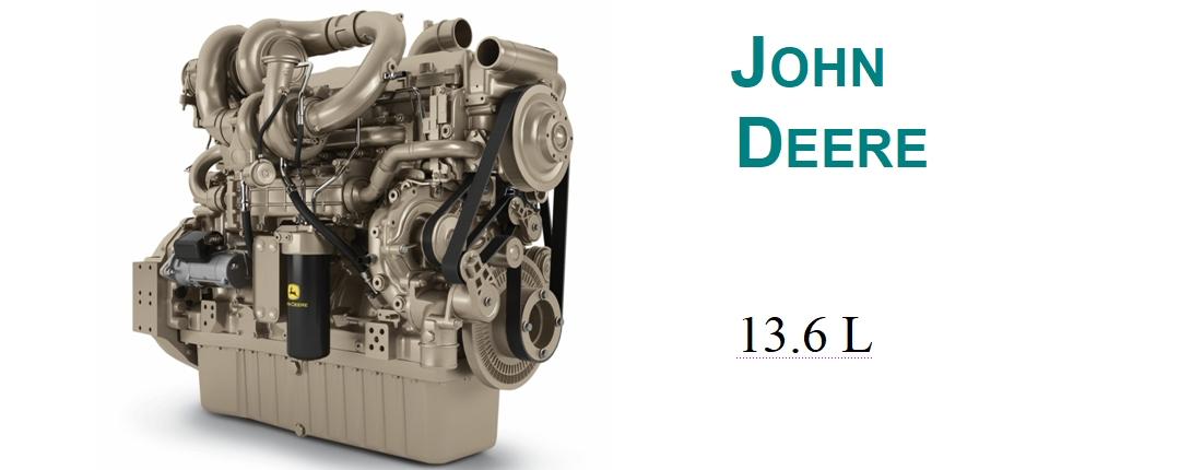 Nowy silnik John Deere 13.6L