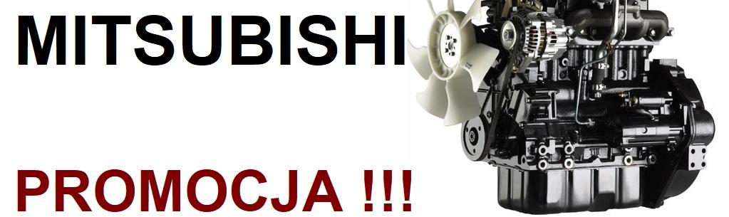 Promocja na fabrycznie nowe silniki MITSUBISHI S4L i S4L2