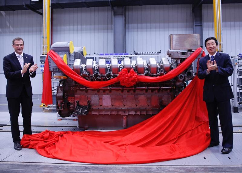 Silniki MTU serii 4000 będą produkowane w Chinach