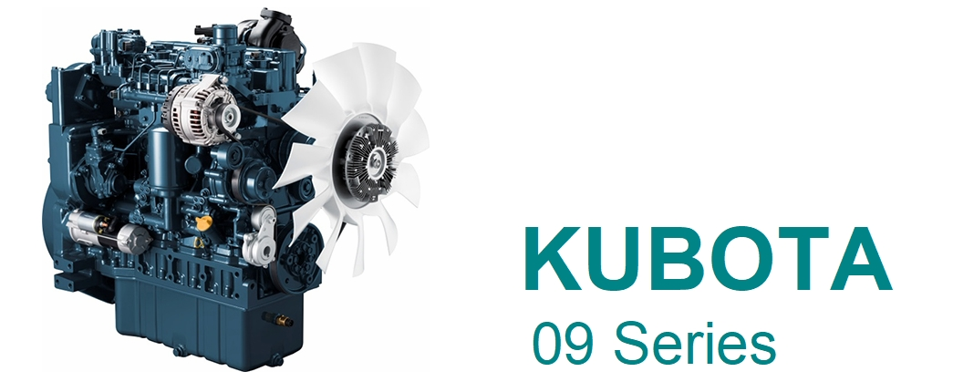 Nowy silnik KUBOTA V5009