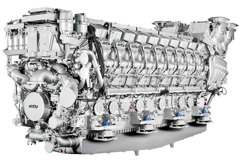 Silniki serii MTU 8000 w Indiach