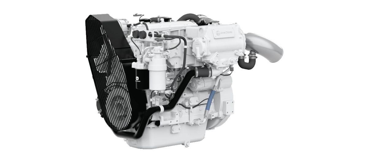 Nowy silnik okrętowy John Deere 4045SFM85 już w sprzedaży