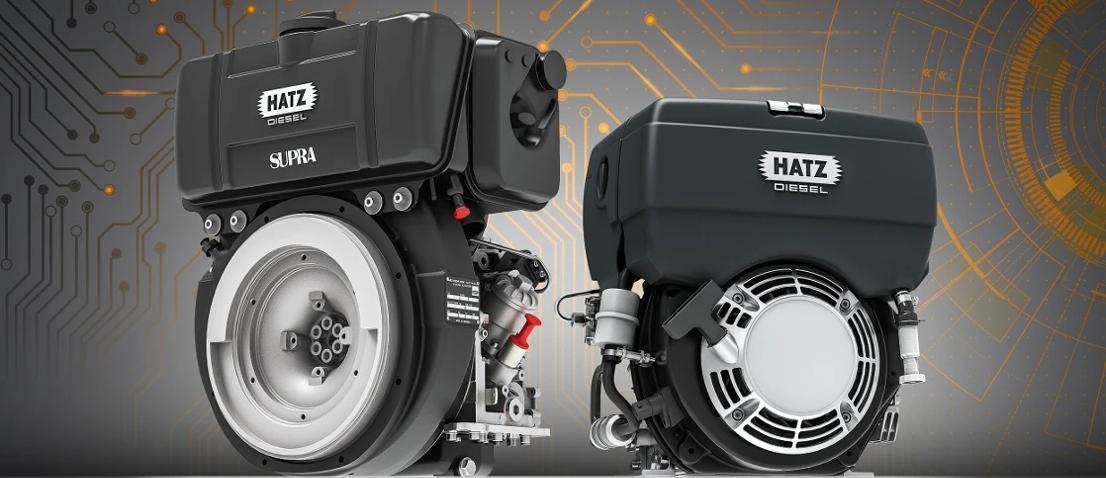 HATZ – jednocylindrowy silnik wysokoprężny ze sterowaniem elektronicznym