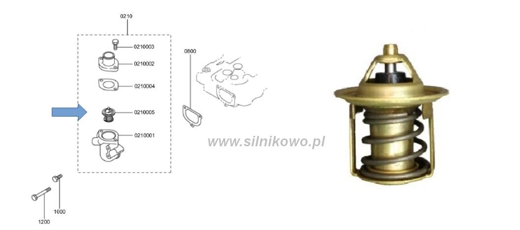 Termostat Mitsubishi L3E – promocja