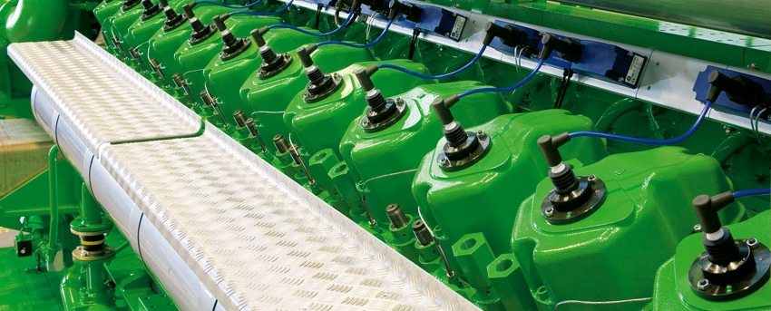 Silniki gazowe GE Jenbacher