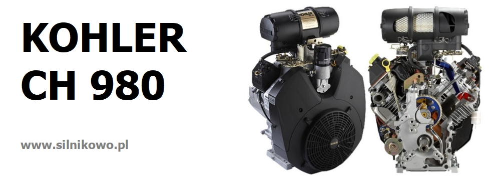 Silnik KOHLER COMMAND PRO CH 980