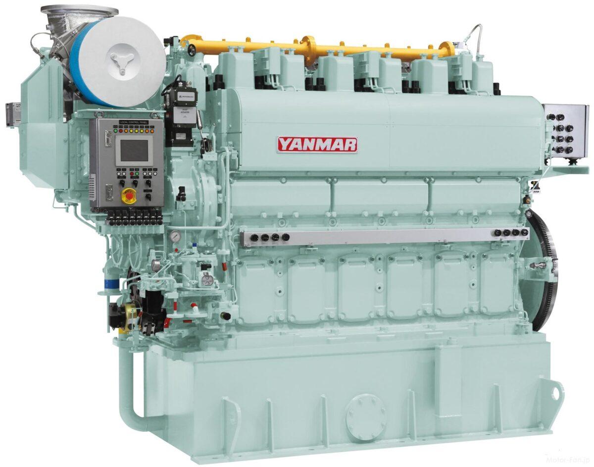 Yanmar otrzymuje pierwsze zamówienie na okrętowe silniki dwupaliwowe 6EY22ALDF